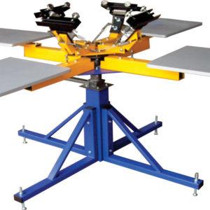 Carousel Screen-Printing Press Machine for Textile