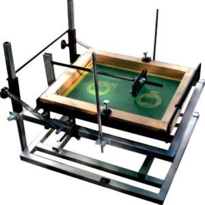 Screen-Printing Press for Cylinder Surface